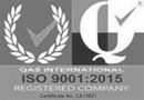 Certified to ISO 9001:2015